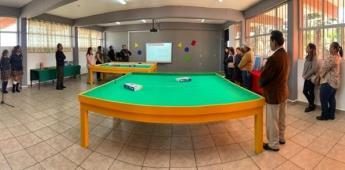 Inaugura Gobierno del Estado Aula Steam en secundaria #19 Francisco González Bocanegra.
