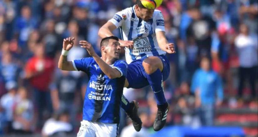 Pachuca y Querétaro negocian empate 1-1