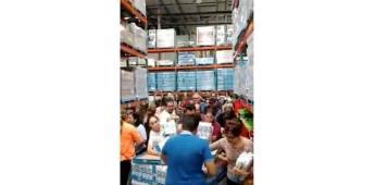 Reporten desabasto ante compras de pánico por coronavirus