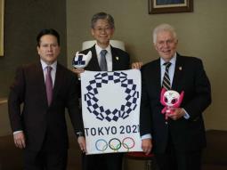 Daniel Aceves Villagrán, portador de la antorcha olímpica de los juegos Tokyo 2020