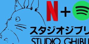 La música de studio Ghibli llega a Spotify