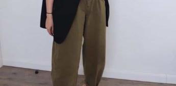 Los pantalones inflables que se han popularizado en Instagram