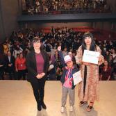 Niña genio mexicana realizó exitosa presentación en IMAC