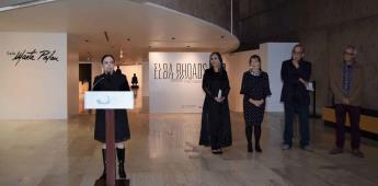 Inaugura el CECUT la Sala Marta Palau con una exposición de la artista visual Elba Rhoads