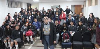 Participa el maestro Manuel Varrona en Programa Comunitario del CECUT
