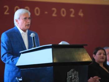 Asamblea Plenaria del Comité para el Desarrollo del Estado El Gobernador Jaime Bonilla Valdez
