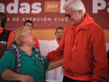 El Gobernador Jaime Bonilla  acompañado de los miembros de su gabinete realizan Jornada por la Paz
