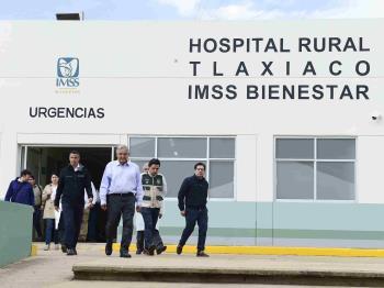 Se inaugurará Hospital Rural del IMSS Bienestar en Tlaxiaco