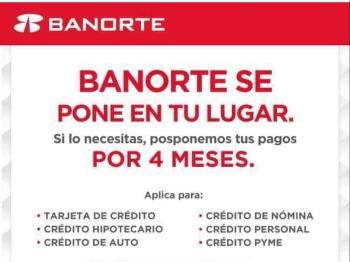 Bancos de México ofrecen apoyo en créditos ante COVID-19