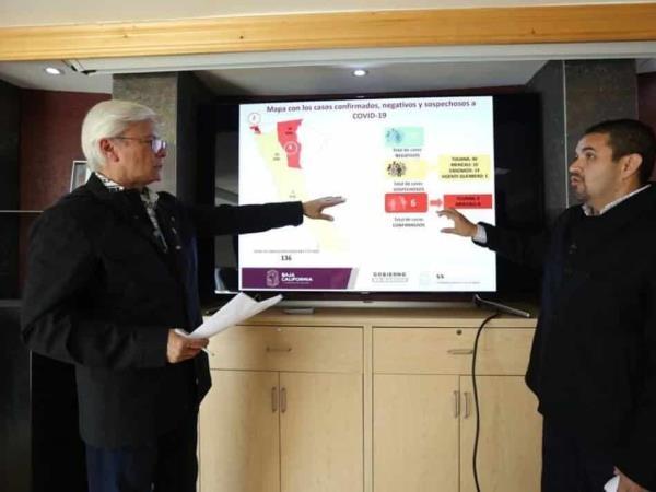 El Gobernador Jaime Bonilla actualiza información referente a la contingencia