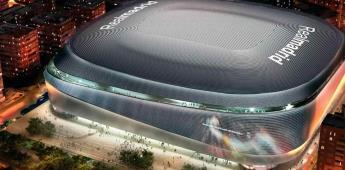 El estadio Santiago Bernabéu funciona como centro de acopio
