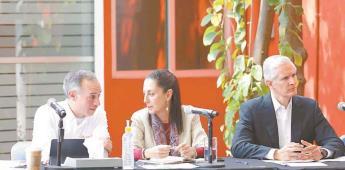 Sheinbaum encabeza sesión de Comité Metropolitano ante Covid-19