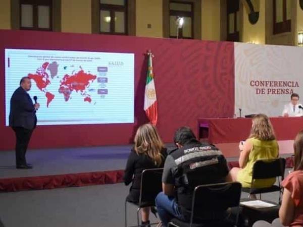 Se lleva a cabo conferencia de prensa ante el Coronavirus