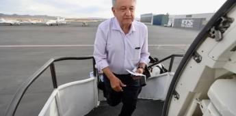 AMLO se niega prueba de temperatura en aeropuerto de Tijuana