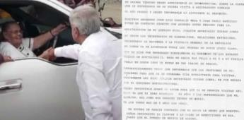 Presidencia difunde nueva carta de la mamá de El Chapo a AMLO