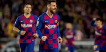 Jugadores del Barcelona se reducen el 70% de su salario