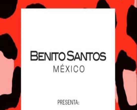 Benito Santos anuncia lanzamiento de nueva colección