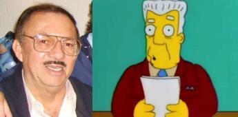 Muere Gonzalo Curiel la voz de Kent Brockman en Los Simpson
