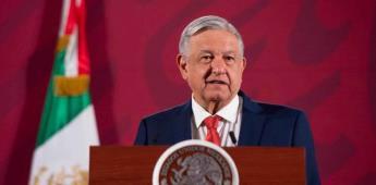 La economía mexicana está bien, asegura AMLO