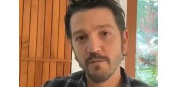 Diego Luna transmite video invitando a empatizarnos por las personas que no pueden quedarse en casa