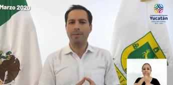 Cerrarán en Yucatán comercio y empresas a partir del 1 de abril