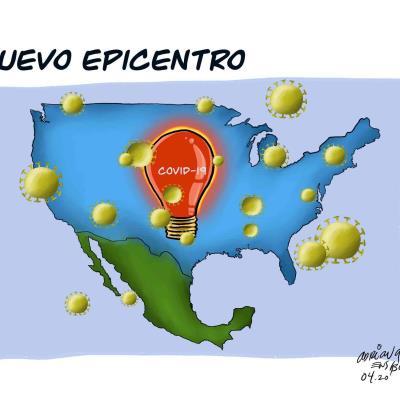 Nuevo epicentro