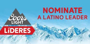 Convocatoria de nominaciones: 2020 Coors Light Líderes