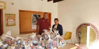 Entregan más de 4 mil apoyos alimentarios en delegaciones