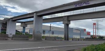 Recomiendan utilizar vías alternas por desmontaje de viejo puente peatonal