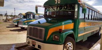Disminuyen el servicio de transporte federal en San Quintín