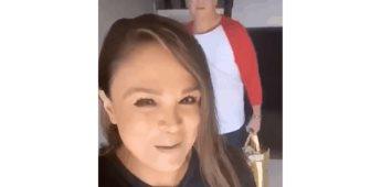 Brenda Bezares hace broma subida de tono de su esposo
