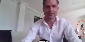 Periodista queda al descubierto siendo infiel  en transmisión en vivo