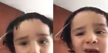 Niño hace tutorial de Cómo cortarse el cabello: Se vuelve viral