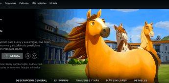 ¡Ya esta disponible en Netflix la nueva serie Spirit Cabalgando libre: Academia de Equitación!