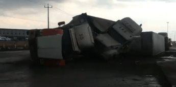 Se registran tornados en Apodaca Nuevo León