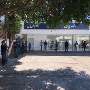 Sancionó el Ayuntamiento a sucursal del banco BBVA-Bancomer