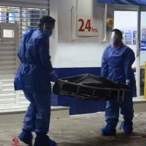 Mujer de 70 años muere en consultorio de farmacia en Veracruz