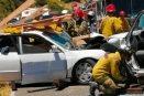 Un muerto y 3 heridos en carambola vehicular a la altura del Rancho La Paleta