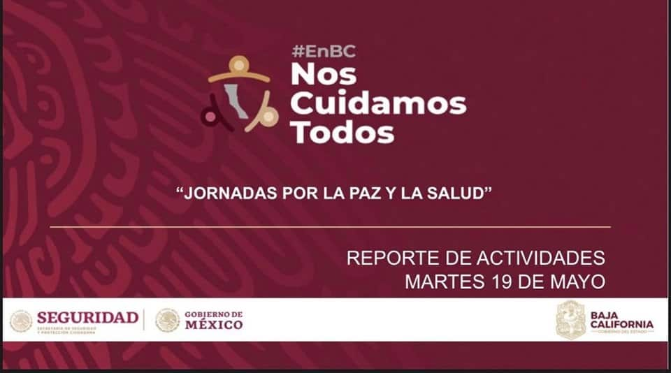 Información actualizada del covid-19 en Baja California