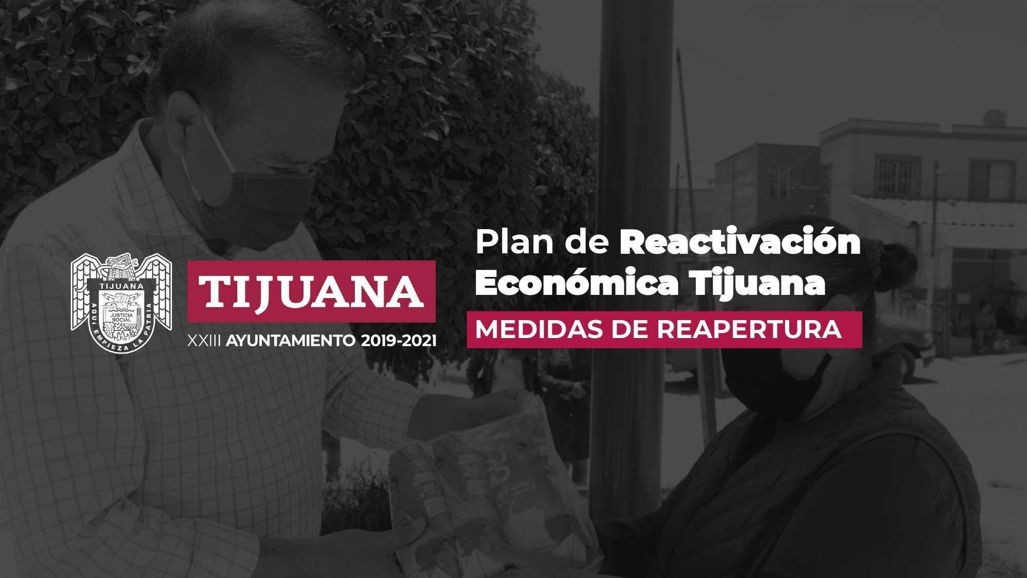 Arturo González presenta plan de reactivación económica Tijuana