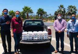 Donan Clubes Rotarios equipos y material médico