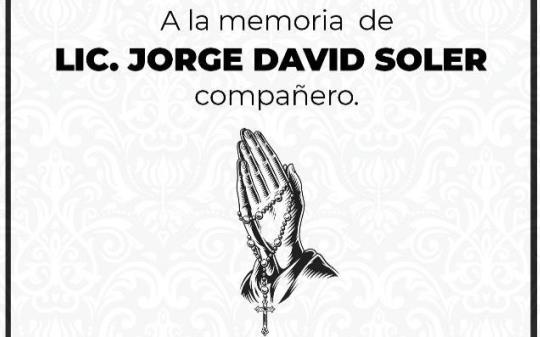 Jorge David Soler.