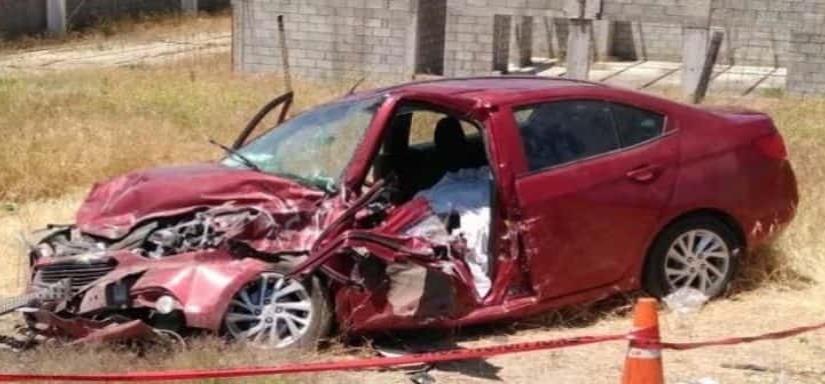 Fallece chofer de Uber, tras choque en San Pablo
