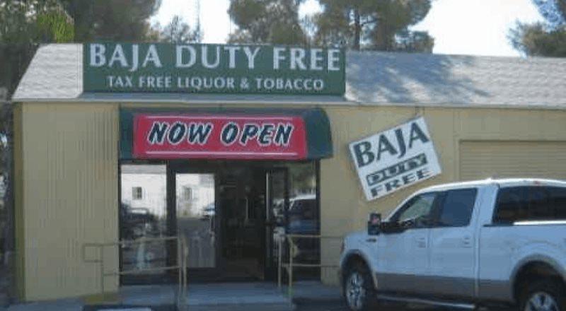 Baja Duty Free Cierra Sus Puertas Al Publico