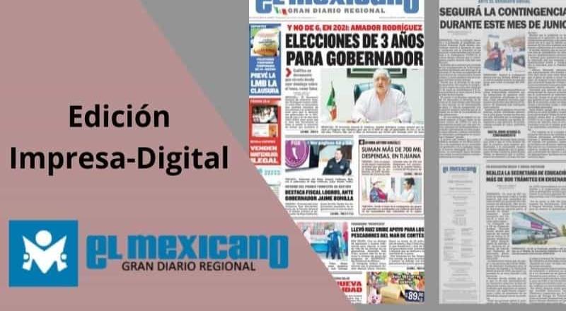 Tutorial| ¿Cómo ingresar a la edición digital de El Mexicano?