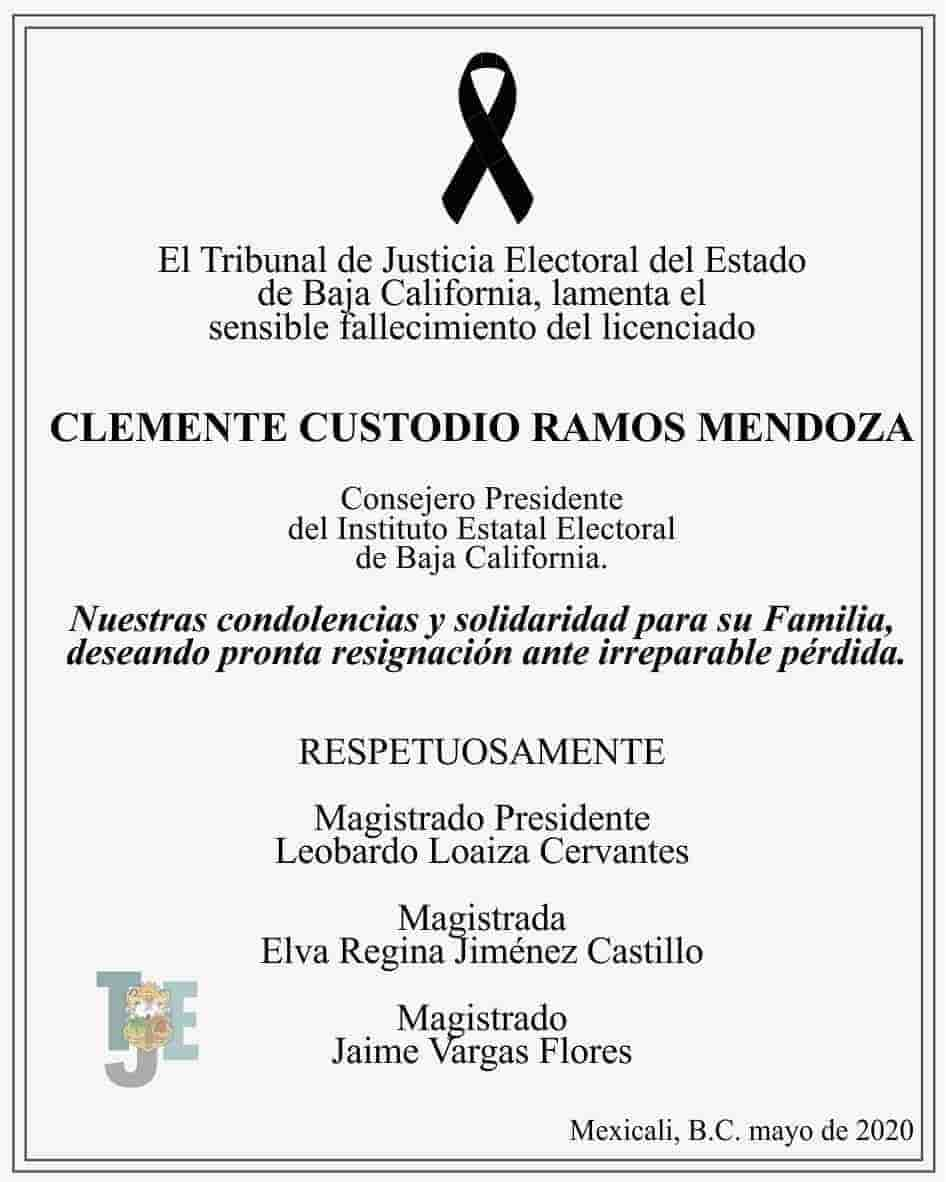 Clemente Custodio Ramos Mendoza