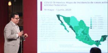 México supera las 10 mil muertes por Covid; hay 93,435 casos