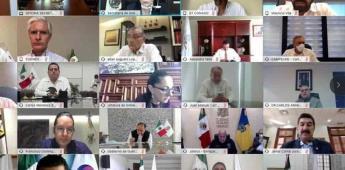 Gabinete y Conago dialogan sobre reactivación económica