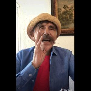 El último video TikTok que subió  Héctor Suárez