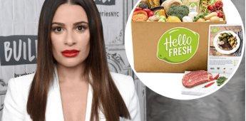 Lea Michele pierde su trabajo con HelloFresh después de las acusaciones de Samantha Ware